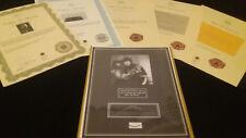 GEORGE HARRISON BEATLES HairLock w Photo Certified Authentic Provenance COA LOA
