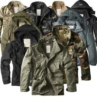 ★ SURPLUS RAW Vintage™ Herren Winter Jacken Fieldjackets Giant Parka Mod. 2020