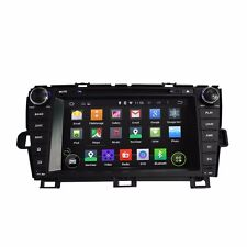 "8"" Android 7.1 Car DVD GPS Navi radio Head Unit FOR TOYOTA PRIUS 2009-2013 Left"