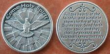 Come Holy Spirit Prayer Coin Token +