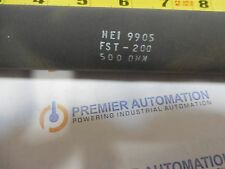 HUNTINGTON ELECTRIC,500 OHMS,FST-200,WIRE WOUND,RESISTOR,HEI 9905
