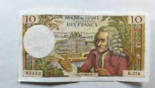 CrazieM World Bank Note - 1967 France 10 Francs - Collection Lot m515