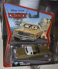 DISNEY PIXAR CARS 2 MEL DORADO #27 NEW NEW