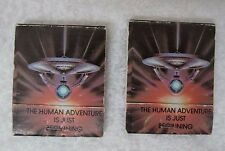 2 Pair of Star Trek The Motion Picture Matchbook Dated 1979 In Good Shape D1