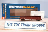WALTHERS MAINLINE 910-5652 ATSF SANTA FE 40' 50-TON DROP-BOTTOM GONDOLA CAR. NIB