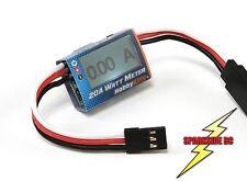 RC Watt Meter 20a Volt Meter Servo Analizzatore di potenza SPEDIZIONE VELOCE-REGNO Unito Venditore