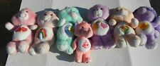 Lot Of Vintage 1980s Care Bears And Care Bear Cousins Plush