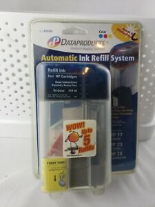 Dataproducts automatic ink refill system #60408  HP17 HP23 HP78 tri-color