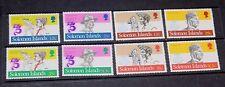 SOLOMON ISLANDS 1982 BOY SCOUTS ANN SET OF 8 VERY FINE MINT  M//N/H
