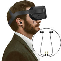 1Pair VR In-ear Earbuds Wired Earphones for Oculus Quest Virtual Reality Headset