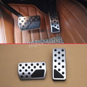 Car No Drill Brake Gas Pedal Cover For Jeep WK2 Grand Cherokee Accessories Parts