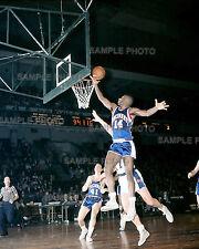 OSCAR ROBERTSON CINCINNATI ROYALS vs NY KNICKS 1960 NBA BASKETBALL 8x10 PHOTO