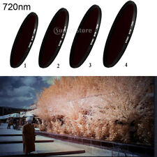 37mm Infrared Ir Filter 720nm Pass X-Ray for Camera Lens Special Effects