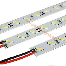 20PCS 50 cm Rigid strip lights DC12V 36 led Pure white SMD 7020 LED strip 0.5/M