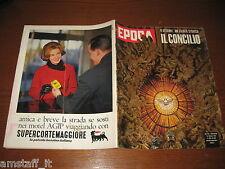EPOCA 1962/629=CONCILIO PAPA CHIESA=ALFRED HITCHCOCK=SVIATOSLAV RICHTER=