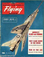 RAF FLYING REVIEW DEC 54 DOWNLOAD: NORAM F100A/ FD-2 IN COLOUR/ No.149 SQDN
