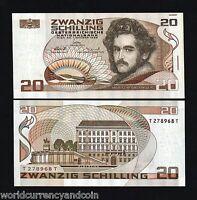 AUSTRIA 20 SCHILLINGS P148 1986 *BUNDLE* EURO HORSE UNC CURRENCY MONEY 100 PCS