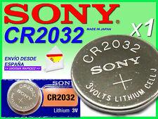Pila SONY Lítio ★ CR2032 ★ 3 voltios /  1 SONY Lithium Battery CR2032