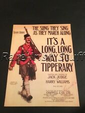 Its a Long Way To Tipperary - Irish World War 1 Connaught Rangers Ireland Print