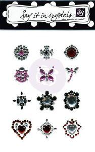 "Prima Marketing - Say it in Crystals "" Acrylic Gemstone Flower Centers"" 522070"