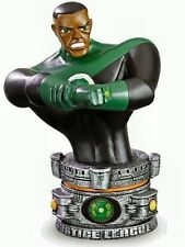 Green Lantern Paperweight Bust Justice League Cartoon Network Series NEW SEALED