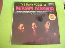 LP THE MANY VOICES OF MIRIAM MAKEBA-GAINSBOURG