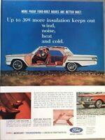 1963 Mercury Comet Automobile Vintage Advertisement Print Art Car Ad Poster LG72