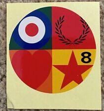 More details for paul weller stanley road music vinyl stickers x 10 - the jam vespa lambretta