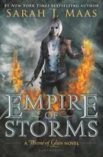 Empire of Storms by Sarah J. Maas Throne of Glass Series Book 5 Hardcover Mass