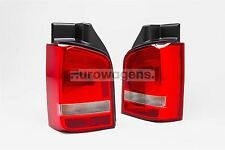 VW Transporter T5 Caravelle 03-15 Rear Lights Lamps Pair Set 1 Door OEM Hella