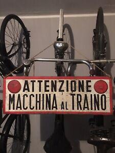 Insegna  Officina  old vintage  Arredamento Industriale Epoca Collezione