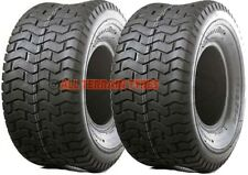 18x950-8 18x9.50-8 Ride On Lawn Mower Garden Tractor Golf Turf PAIR OF TYRES