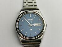 Rare Seiko SQ Mens Day / day Quartz Watch 4336-811L for Repair / Parts