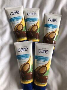 5 x Avon Argan Oil Regenerating Hand Cream 75ml