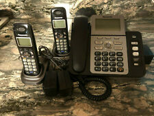 Kx-tg9472 Panasonic 6.0 digital 2 line base and 2 KX-TGA939 cordless phones