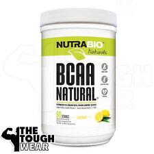 NUTRABIO BCAA NATURAL 400grams - Lemonade - FERMENTED BRANCHED CHAIN AMINO ACIDS