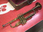 1947  E.K. Blessing Standard Trumpet w/ case 2 Mouthpieces serial 44204