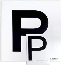 """Contrassegno """"P"""" Principiante, Set di 2 Pezzi Anteriore + Posteriore"""