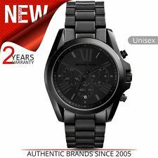 Michael Kors Bradshaw Unisex Watch MK5550¦Black Chronograph Dial¦Bracelet Band