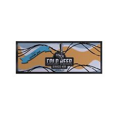 Personalised Cold Beer Lockdown Bar Runner Cocktail Party Bar Mat Man Cave