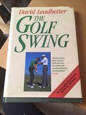 The Golf Swing, David Leadbetter, John Huggan   Hardcover Book   Good   97800021