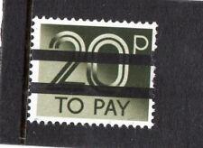 GB 1982 20p Postage Due School Training Stamp 2 Bar MNH