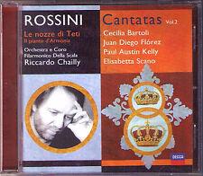 CHAILLY: ROSSINI Le nozze di Teti Orfeo CD Juan Diego FLOREZ Cecilia BARTOLI