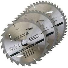 3 circolare troncatrice LAME 205mm DIAMETRO FORO 30mm 25 18 & 16mm cespugli 408979