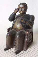 "Great Antique 1873 Mechanical Bank TAMMANY BOSS ""TWEED THE FAT MAN"", J&E STEVENS"