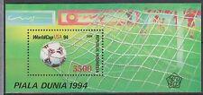 Indonesia Indonesie 1591 sheet B110 MNH Wereldkampioenschap Voetballen VS 1994