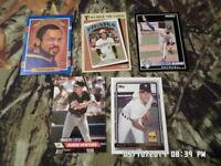Mixed Lot of 20 Baseball Sports Cards (LOT #4) 1987-1994 Upper Deck Topps Fleer