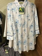 Country Classic Collection Blue Flowers Brand New With Tags Size 14 $35.