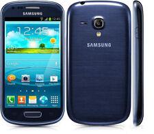 Samsung Galaxy S III mini GT-I8190 - 8GB - Pebble Blue (Unlocked) Smartphone...