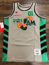TUNESQUAD Space Jam Movie Authentic Basketball Jersey Headgear Classics NASA